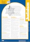 Faith fact cards: Judaism (1 page)