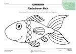 Rainbow fish (1 page)