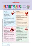 Daily brainteasers (2 pages)