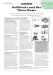 Goldilocks and the Three Bears - activities (1 page)