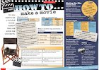 How to make a movie – fact-filled poster