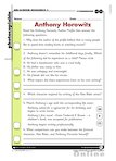 Anthony Horowitz - quiz (1 page)