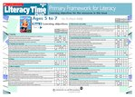 Primary Framework - Literacy Time PLUS Ages 5 to 7, Issue 35  (2 pages)