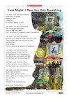 'Last Night, I Saw the City Breathing' poem