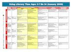 Using Literacy Time Ages 5-7 Issue 34 (1 page)