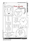 Time words (1 page)