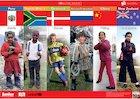 School children around the world – poster