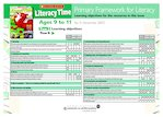 Primary Framework - Literacy Time Ages 9 to 11 Issue 51 (2 pages)