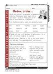 Order, order - alphabetical order (1 page)