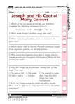 Joseph and his Coat of Many Colours (1 page)