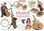 Musical instruments poster (1 page)
