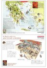 Ancient Greece – map and household poster