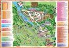 Safari park map poster