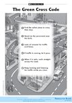 The Green Cross Code (1 page)