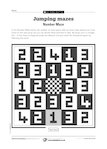 Marvellous Mazes: Number Maze (1 page)
