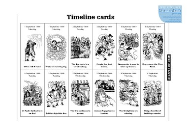 Timeline cards free primary ks1 teaching resource scholastic click to download ibookread Read Online
