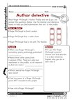 Roger McGough - Author detective (1 page)