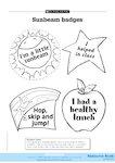 Sunbeam badges (1 page)