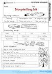 Storytelling kit  (1 page)