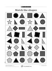 Match the shapes (1 page)
