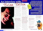Interview with author Brian Patten (1 page)