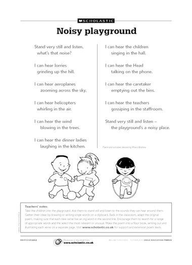 Playground Poems 6
