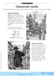 The Great Plague character cards (1 page)