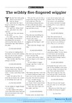 The wibbly wiggler (1 page)