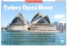 Sydney Opera House – interactive resource