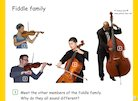 Hey Diddle Diddle: Fiddle family