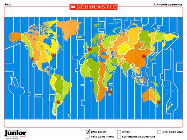Time zones around the world interactive resource primary ks2 interactive flash gumiabroncs Choice Image