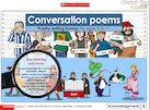 Conversation Poems Part 1 – interactive resource