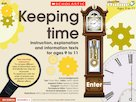 Keeping time – interactive whiteboard resource