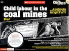 Child labour in the coal mines