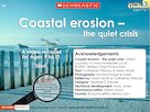 Coastal erosion – multimedia resource