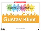 Inspire and create: Gustav Klimt