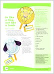 In like a lion, out like a lamb (1 page)