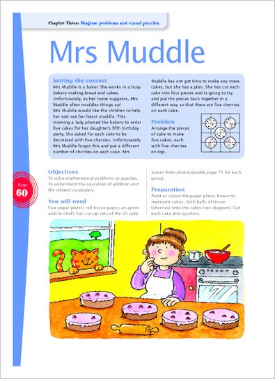 Mrs Muddle (page 60)