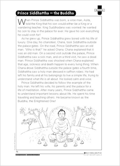 Prince Siddhattha- The Buddha
