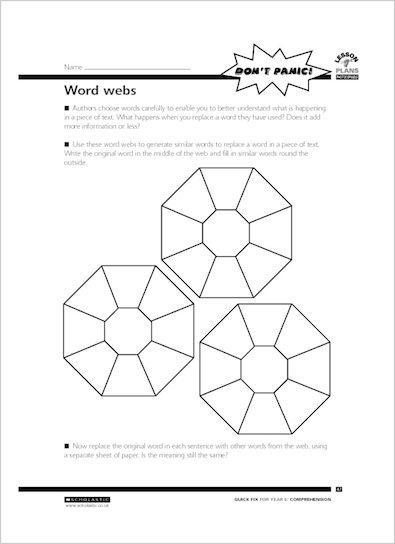 Word webs