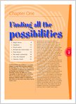 Finding all the posibilities (1 page)