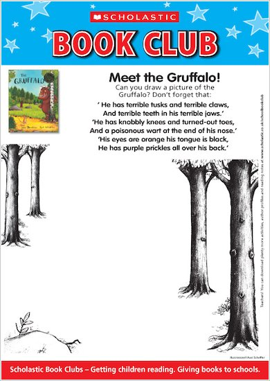 Draw the Gruffalo!