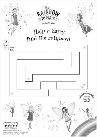 Rainbow Magic Maze