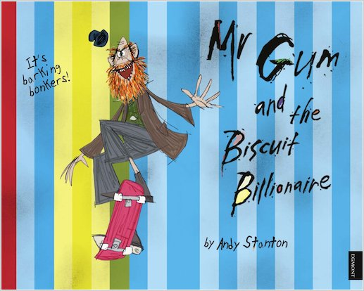 Mr Gum and the Biscuit Billionaire Wallpaper