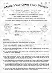 Make Your Own Fairy Wings (2 pages)