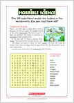 Horrible Science Wordsearch (0 pages)