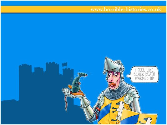 Horrible Histories Knight Wallpaper