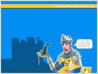 Horrible Histories Knight Wallpaper