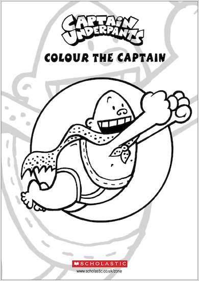 Colour Captain Underpants!