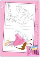 Disney Princess Colouring Sheet